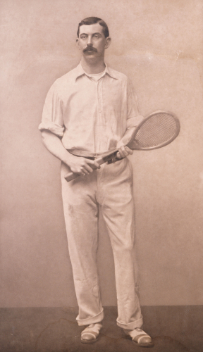 Peter Latham - British Racquet And Tennis Champion by Christie's Images