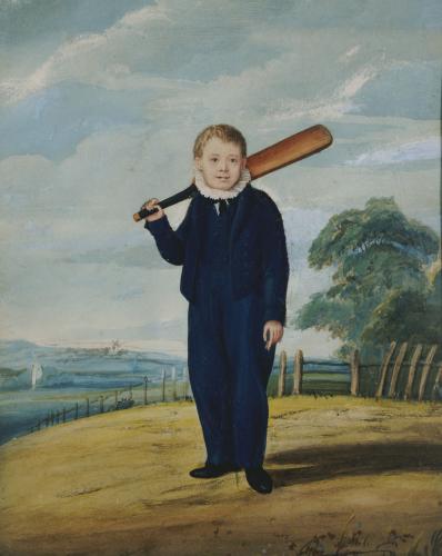 Blue Boy, Circa 1820 by Henry Bone