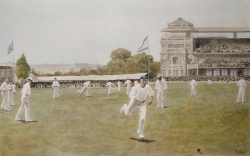 Cricket At Lords, 1896 by Christie's Images