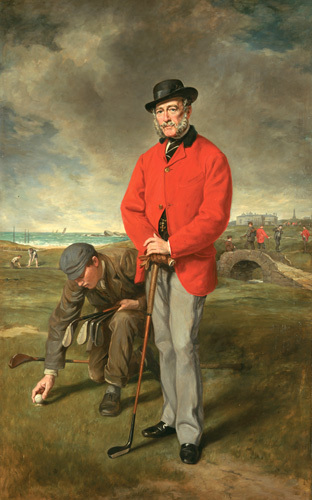 Portrait Of John Whyte Melville Of Bennochy And Strathkinners by Sir Francis Grant