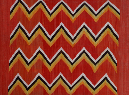 A Navajo Transitional Wedgeweave Blanket by Christie's Images