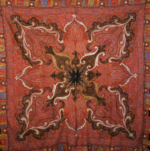 A Square Jamawar Shawl by Christie's Images