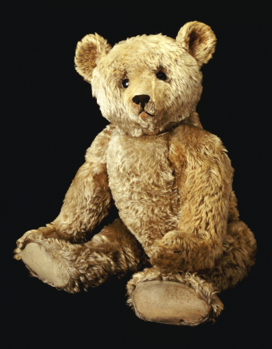 Golden Teddy Bear by Christie's Images