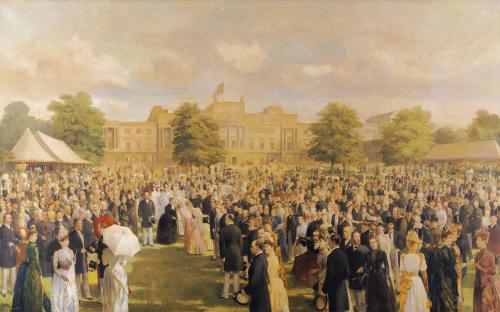Queen Victoria's Jubilee Garden Party, C. 1897 by Frederick Sargent