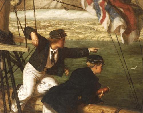 Land Ahoy!, 1864 by Phillip Richard Morris