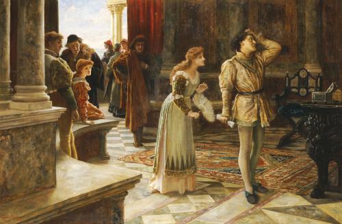 The Merchant Of Venice, 1892 by Francis Sydney Muschamp