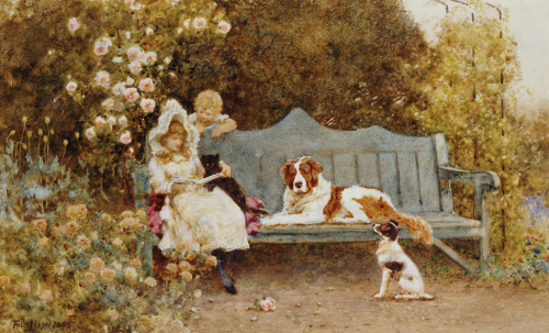 A Fairy Tale, 1895 by Thomas James Lloyd