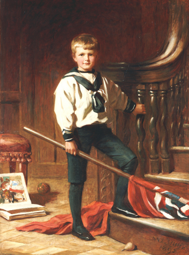 The Young Patriot, 1892 by William Edwards Miller