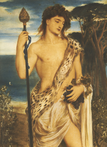 Bacchus, 1867 by Simeon Solomon