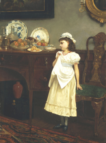 Temptation, 1877 by Lionel Charles Henley