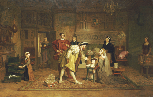 The Royal Nursery, 1871 by Marcus Stone
