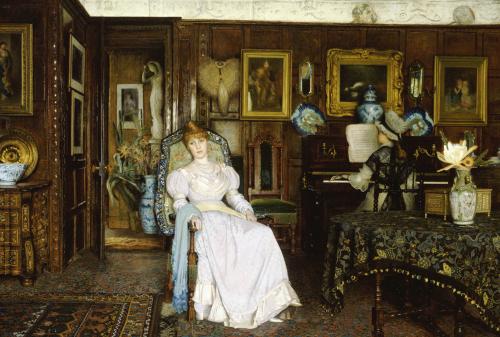 Dulce Domum, 1885 by John Atkinson Grimshaw