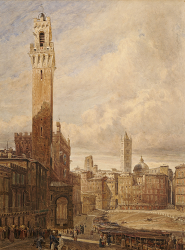 Piazza Del Campo, Siena by John Fulleylove