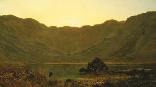 Mountain Solitude, 1885 by John Atkinson Grimshaw