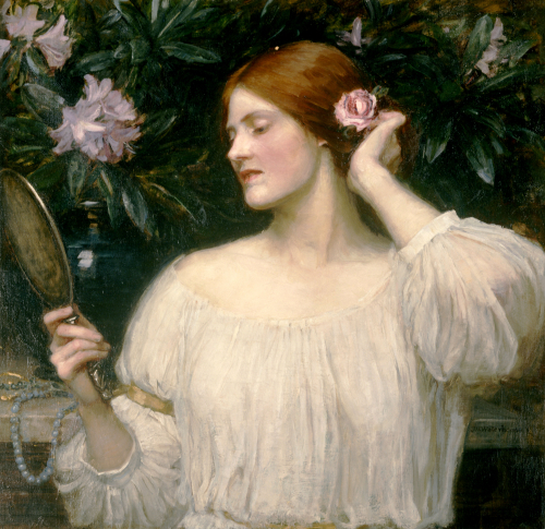 Vanity by John William Waterhouse