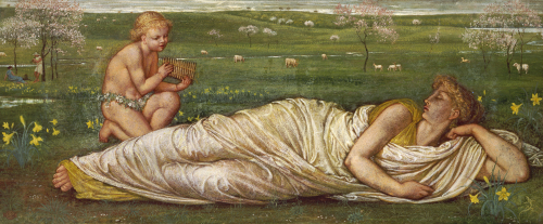 The Earth And Spring, 1875 by Walter Crane