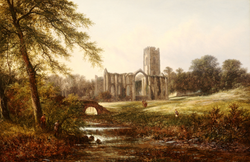 Rievaulx Abbey by Walter Williams