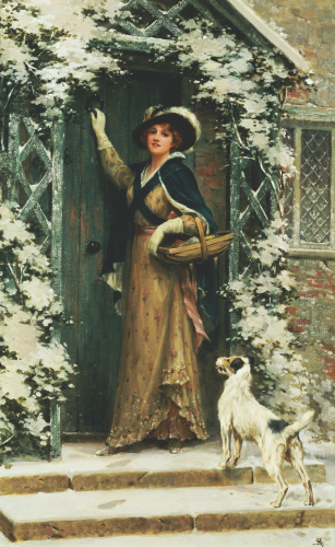 Christmas Cheer by George Sheridan Knowles
