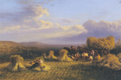 Harvest Scene, 1876 by George Cole