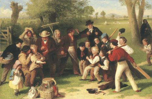 The Fight, c. 1869 by John Morgan