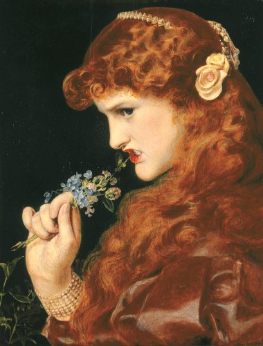 Love's Shadow, C. 1867 by Anthony Frederick Augustus Sandys