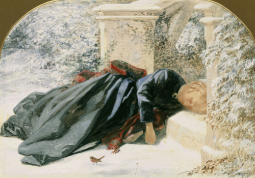 Cold, 1869 by Edward Henry Corbould