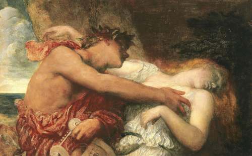 Orpheus and Eurydice, C. 1867 by George Frederic Watts