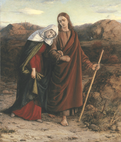 St John Leading Home His Adopted Mother by William Dyce