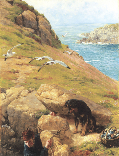 The Gull Catcher, 1877 by James Clarke Hook