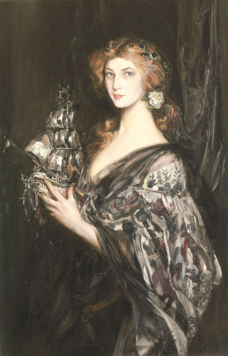 The Silver Ship by Sir James Jebusa Shannon