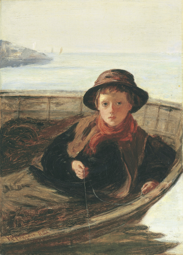 The Fisher Boy, 1870 by Sir William McTaggart
