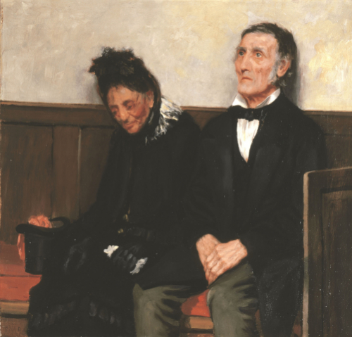 Darby And Joan, 1893 by James Charles