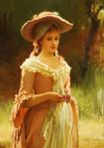 Olivia, 1880 by Marcus Stone