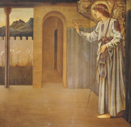 The Annunciation, 1893 by Sir Edward Burne-Jones