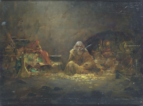 The Alchemist by William A. Breakspeare