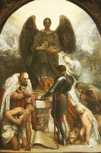 The Angel Of Death by George Frederic Watts