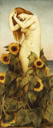 Clytie, 1886 by Evelyn de Morgan