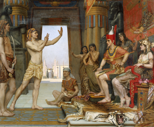 Joseph Interpreting Pharaoh's Dream, 1893 by Reginald Arthur
