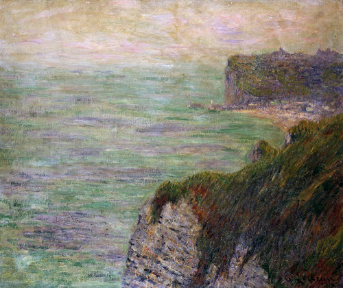Shadows On The Sea (Fecamp) by Gustave Loiseau