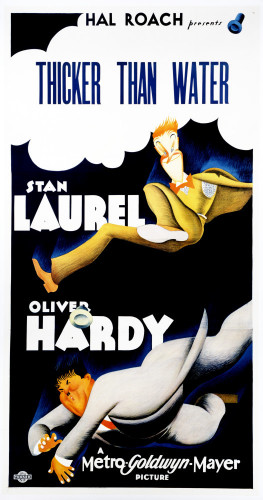 Thicker Than Water 1935 by US Movie Poster