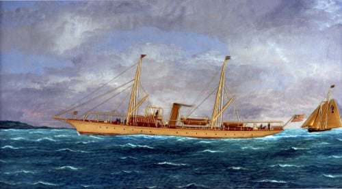 The Yacht Llewellyn by Thomas H. Willis