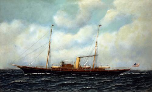 Steamship Riviera by Antonio Jacobsen