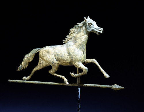 Galloping Horse Weathervane by William Fisk