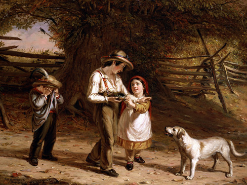 Bird-Egging by William Sidney Mount