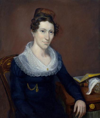 Portrait Of Mrs by American School