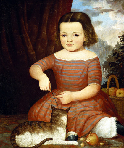 Portrait Of Louise Stover, Saratoga Springs, Ny by American School