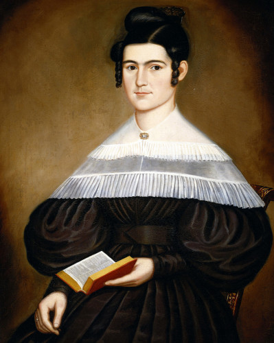 A Portrait Of A Lady by Orlando Hand Bears