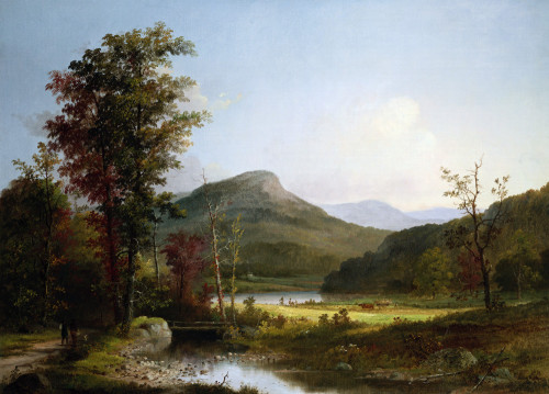 Autumn Landscape by George Henry Durrie