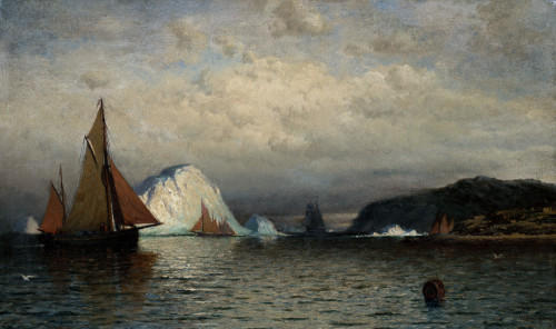 Coast Of Labrador by William Bradford