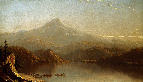 In The Wilderness by Sanford Robinson Gifford